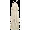 Twisted Pleat Silk Dress by Julien MacDo - Vestidos -