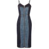 Two-Toned Denim Dress - Obleke -