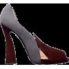 Two-Toned Heel - Sapatos clássicos -