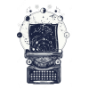 Typewriter illustration - Illustrations -