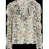 ULLA JOHNSON Astrid Floral Lurex Blouse - Hemden - lang -