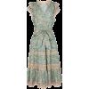 ULLA JOHNSON green printed dress - Dresses -