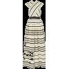 ULLA JOHNSON stiped dress - sukienki -