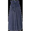 ULLA JOHNSON tie front denim skirt - Skirts -