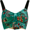 UMA WANG floral print bustier top - Tanks - $341.00