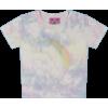 UNIF RAINBOW TIE DYE BABY TEE - T-shirts -