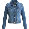 URBAN K WOMENS Long-Sleeve Distressed Bu - Jacket - coats - $19.96