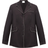 URBERRY Crystal-trimmed silk blouse £708 - Košulje - duge -