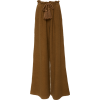 Ulla Johnson wide leg pants in brown - Capri & Cropped -