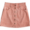 Unforgettable Fall Corduroy Miniskirt RO - Skirts -