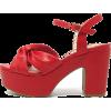 Ursula Red - 坡跟鞋 - $79.00  ~ ¥529.33