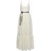 VALENTINO Belted broderie anglaise cotto - Obleke -