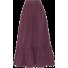 VALENTINO Cotton-blend twill skirt - Skirts -