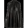 VALENTINODraped leather cape - Jacket - coats -