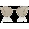 VALENTINO Embellished cat-eye sunglasses - Occhiali da sole -