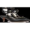 VALENTINO GARAVANI CALFSKIN PUMP WITH CH - Classic shoes & Pumps - 685.00€  ~ $797.55
