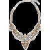VALENTINO GARAVANI Glam Flowers silver-t - Necklaces -