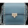 VALENTINO GARAVANI ROCKSTUD GRAINY CALFS - Messenger bags -