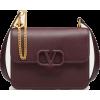 VALENTINO GARAVANI VSLING GRAINY CALFSKI - Poštarske torbe - $3,295.00  ~ 2,830.03€