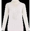 VALENTINO  High-neck Chantilly-lace blou - Long sleeves shirts -