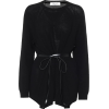 VALENTINO Leather-trimmed wool and cashm - Maglioni -