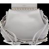 VALENTINO  Rockstud grained-leather buck - Hand bag -