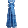 VALENTINO  Ruffled silk-organza gown - Dresses -