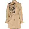 VALENTINO Tiger print trench coat - Jacket - coats -