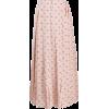 VALENTINO V logo pleated skirt - Skirts -
