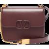 VALENTINO  V-ring leather bag - Kleine Taschen -