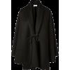 VALENTINO black coat - Jakne in plašči -