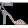 VALENTINO blue & pink sandal - Sandały -
