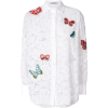 VALENTINO chemis eà motif de papillons - Long sleeves shirts -