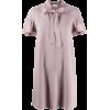 VALENTINO light purple pink dress - Vestidos -