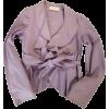 VALENTINO light purple pink jacket - Jacket - coats -