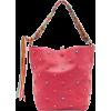 VALENTINO red stars leather bag - Kleine Taschen -