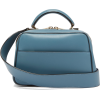 VALEXTRA  Serie S small leather cross-bo - Torbice -
