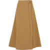 VANESSA BRUNO Cotton-blend twill wrap sk - Skirts - £275.00