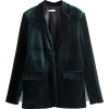 VELVET 2PC BLAZER AND PANTS SET (2 COLOR - Trajes - $67.97  ~ 58.38€