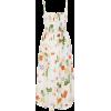 VERANDAH Smocked Floral-Print Midi Dress - ワンピース・ドレス -