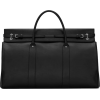VERNEUIL LARGE DUFFLE IN SMOOTH LEATHER - Borse con fibbia -