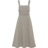 VERONICA BEARD brown gingham dress - Vestidos -
