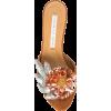 VERONICA BEARD floral embellished sandal - Sandálias -