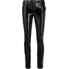 VERSACE JEANS COUTURE skinny patent-leat - Capri & Cropped -
