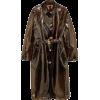 VERSACE PVC trench coat - Jacket - coats -