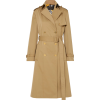 VERSACE Paneled double-breasted gabardin - Jacket - coats -