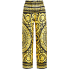 VERSACE Printed Silk Pants - Capri hlače -