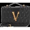 VERSACE Virtus quilted leather shoulder - Hand bag -
