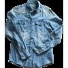 VERSACE denim shirt - Shirts -