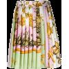 VERSACE minijupe imprimée plissé - Skirts -